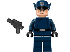 LEGO Star Wars First Order Officer Mini Figure W/ Blaster Pistol 75166