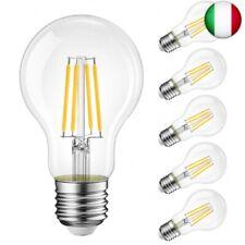 Lampadine di filamenti a LED, 8W Equivalenti a (A60 E27 8W 2700K 1055LM-6 Pezzi)