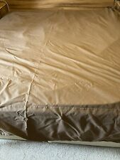 Chocolate Brown Superking Valance