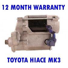 TOYOTA HIACE MK3 MK III 2.0 2.4 1989 1990 1991 - 1998 RMFD STARTER MOTOR