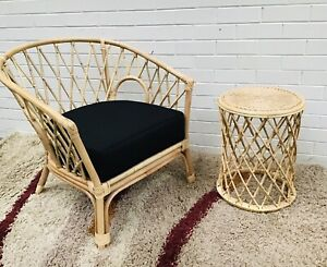 Balinese Rattan Arm Chair Home And Garden Decor
