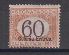 1926 - Eritrea, Segnatasse d'Italia, c.60 arancio e bruno, gomma integra - 992