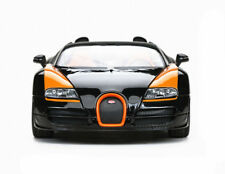 Rastar 1:18 Bugatti Veyron Grand Sport Vitesse Diecast Model Car Black New