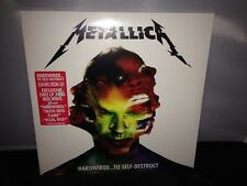 "Metallica ""Hardwired To Self Destruct"" 2XLP Ltd Ed Red Colored Double Vinyl 2016"