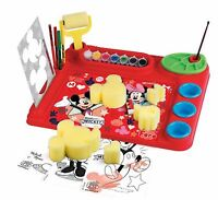 Mickey Mouse Artist Desk Stencil Faro Ages 5+ New Toy Doll Play Girls Boys Paint