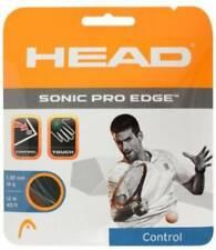 Head Sonic Pro Edge 16G Tennis String Anthracite - NEW!