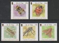 Isle of Man - 2001, Insects set - MNH - SG 924/8
