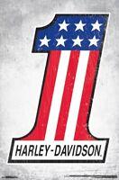 HARLEY-DAVIDSON - #1 POSTER - 22x34 - MOTORCYCLE 15667