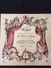 MOZART: LE NOZZE DI FIGARO (Highlights) Schwarzkopf / Karajan 1958 LP 33CX1558