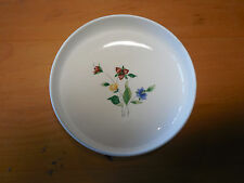 "Hankook Saint James WILD FLOWER 5976 Set of 6 Fruit Desert Bowls 5 5/8"""