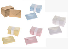 Pearlised Small Mini Florist Envelopes 10cm x 6.5cm Pack of 10