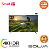 "Televisione Smart TV BOLVA 65"" Pollici 4K Ultra HD Android WiFi LED Televisore"