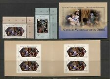 VATICAN 2008, CHRISTMAS - JOINT W. GERMANY - Scott 1399-1400,1401a SET + BKL MNH
