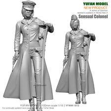 Unpainted 1/16 Resin Figure Model Kit Garage Kits Germany Sexy Female Officer