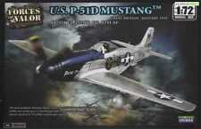 87005 Forces of valor Unimax 1:72 escala kit modelo de plástico P-51D Mustang de EE. UU. nuevo