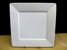 "222 FIFTH  ""URBAN LINK - PLATINUM""  5 SQUARE SALAD PLATES"