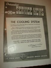 Original CHEVROLET SERVICE NEWS Jun 1936 - The Cooling System & MORE
