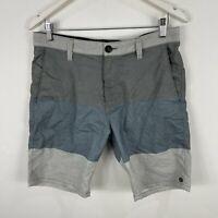 Billabong Mens Shorts 32 Grey Pockets