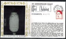 1993 - Enveloppe - Fdc 1°Jour*Les 5 Martyrs du Lycée Buffon - Une Urne - Yt.2773