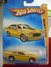 Hot Wheels Custom V-8 Vega 2009 New Models Yellow