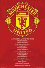 MANCHESTER UNITED HONORS SOCCER Poster 2010 NEW MINT