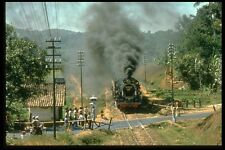 182095 Scene At Road Crossing In Java As No CC5003 Heads For Bandung A4 Photo Pr