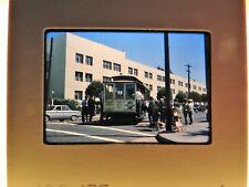 San Francisco trolley car original kodak slide 1963 Pepsi  35mm