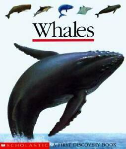 Whales (First Discovery Books) - Hardcover By Gallimard Jeunesse - GOOD
