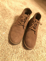 Mens Genuine Leather Chukka Boot Brown Goodfellow & Co. Sz.12