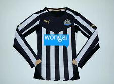 Newcastle United 2014 - 2015 Home Player Issue Long Sleeve Puma Shirt Medium M