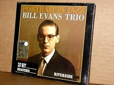 BILL EVANS TRIO Portrait in Jazz CD Riverside OJC Digipack SIGILLATO!!!