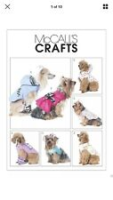 M6218 Pet Costumes MCalls Sewing Pattern Sizes S,M,L,XL