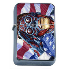 They Live Rs1 Flip Top Dual Torch Lighter Wind Resistant