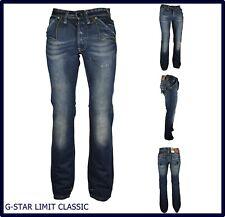 Jeans g-star da uomo g star gamba dritta dritti svasati regular W 29 32 33 34 36