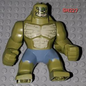 Lego Big Mini Fig KILLER CROC Sand Blue Pants Super Hero DC Marvel Batman 76055