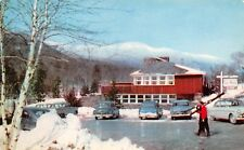 Toll House Inn Mt Mansfield Vermont and Fall scene