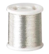 Clover Kantan Couture Bead Embroidery Tool Thread - Silver