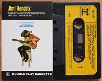 """JIMI HENDRIX - FROM THE FILM """"JIMI HENDRIX"""" (REPRISE K464017) UK CASSETTE /2"""