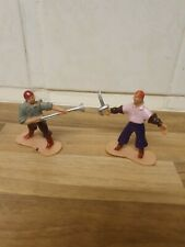 2 pirate figures unbranded