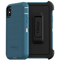 OtterBox Defender Series Rugged Case & Clip Holster for iPhone Xs & X - Big Sur