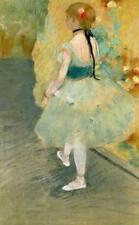 DEGAS, BALLET, DANCER IN GREEN, BACKSTAGE, FRIDGE MAGNET