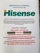 HISENSE LTDN 50D36TUK SVH500A24 _ 5 ledrev 6 _ 140303 T500HVN07.1 25 PEZZI KIT LED