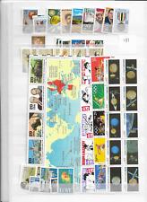 1991 MNH USA commemorative selection