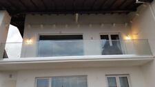 Ganzglasgeländer Balkongeländer Terrassengeländer für ESG -VSG-.Glas