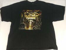 VTG Black Obituary Anthology Licensed T Shirt 2001 2XL Metal