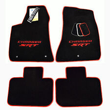 Dodge Charger SRT SRT8 -HellCat Sedan - 392 - Floor Mats - Red - 32OZ 2Ply - USA