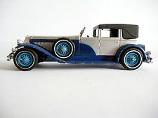 Duesenberg 1930 Model J Town Car - Matchbox 1/43