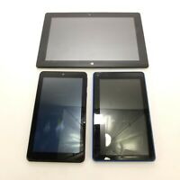 Lot of Broken Tablets Nook RCA Voyager NuVision Android Windows 10