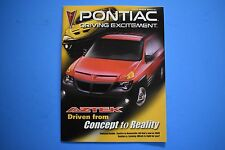 2000 Auto Show Special Pontiac Driving Excitement Magazine