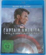Captain America  The First Avenger  3D + 2D    Blu Ray